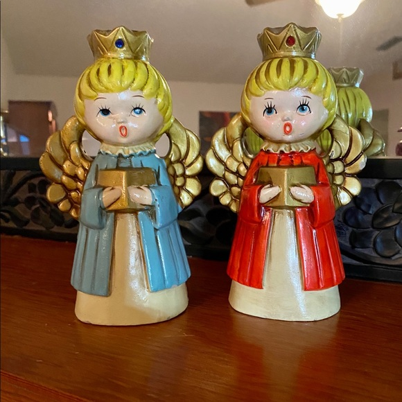 Vintage Other - Two Vintage ARDCO Angel Choir Candle Holders